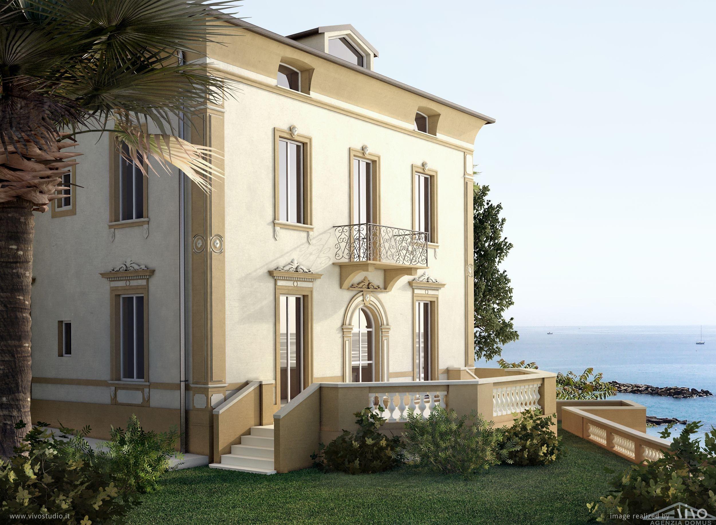AG DOM 993 – Newly built Villa in Sanremo – Agenzia Domus